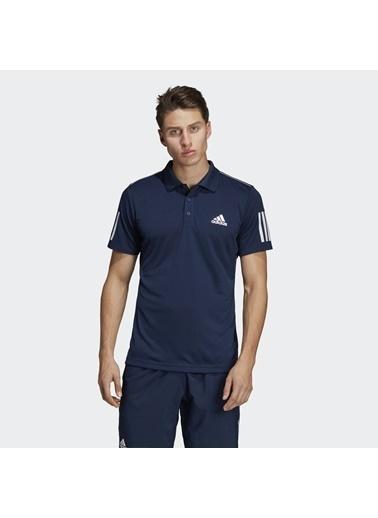 adidas Club 3Str Polo Erkek Tişört Du0850 Lacivert